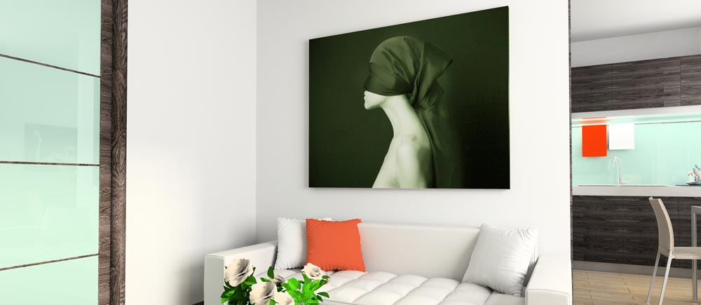 design your home with canvas print